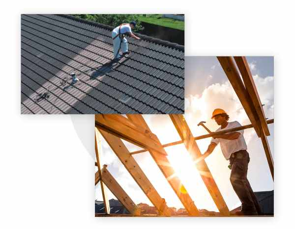 entretien de toiture : lavage, démoussage
