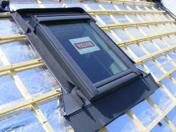 Pose de velux et fenêtre de toit