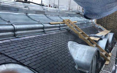 Construction toiture à Paris