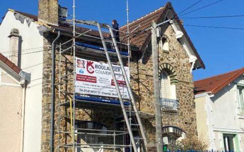 Renovation toiture et Charpente à Colombes
