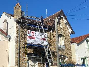 Rénovation complete d'une toiture dans le 92 : couverture & charpente