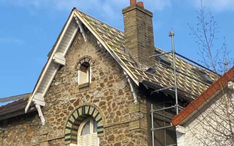 Renovation d'une toiture à Colombes