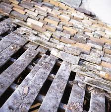 Vieille toiture à rénover
